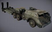 Tank Transporter in Resistance Burning Skies
