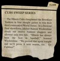 AFAO cubssweep