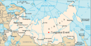 Russia-CIA WFB Map--Tunguska