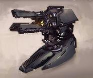 Hellfire Turret concept art