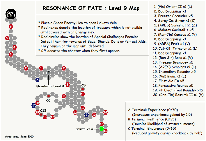 Level 9 - Map