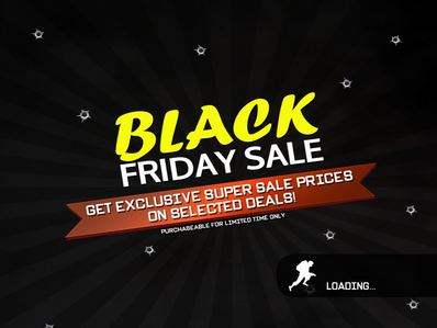 Black Friday Sale load page