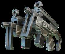 Dual Rookie Machine Gun Cutted