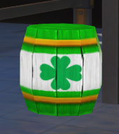 Explosive Barrel (St. Patricks)