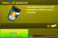 Small XP Booster