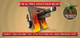 New Free Howitzer Skin