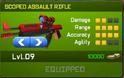 Scoped Assault Rifle