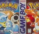 Pokémon Red, Green, and Blue