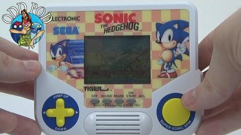 Sonic the Hedgehog - Tiger Electronic Handheld Game Review