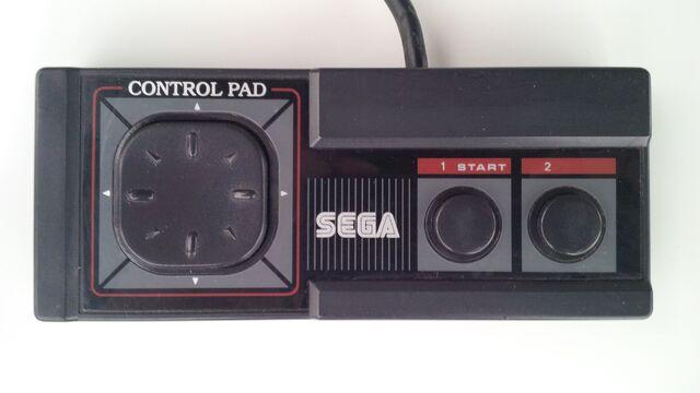 File:Sega Master System controller top.jpg