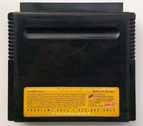 File:Game Genie Sega Genesis rear.jpg