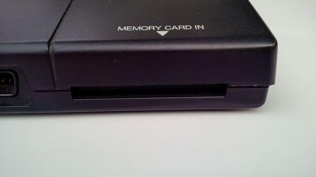 File:Neo Geo AES memory card slot.jpg