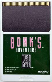 TurboGrafX-16 HuCard - Bonk's Adventure