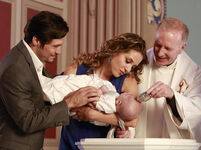 Baby Carl's Baptism