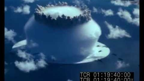 Original Colour Film of Baker Atom Bomb at Bikini Atoll 1946