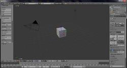 Blender v2.66.1 screen