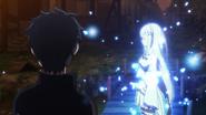 Emilia talks to Spirits - Re Zero Anime BD