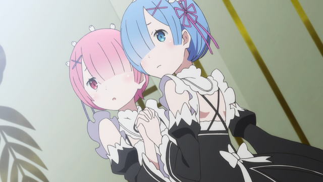 File:Ram and Rem - Re Zero Anime BD - 2.png