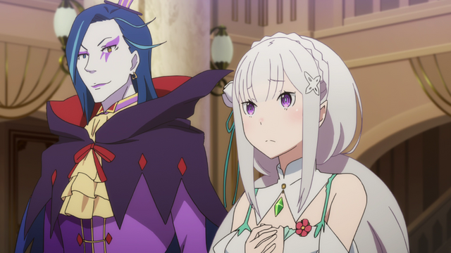 File:Roswaal and Emilia - Re Zero Anime BD - 1.png