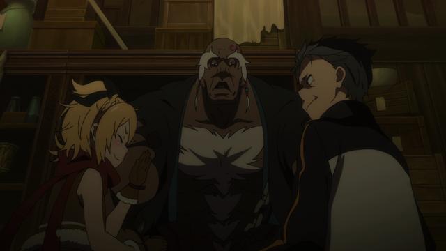 File:Felt, Rom and Subaru - Re Zero Anime BD - 1.png