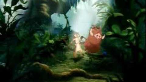 The Lion King - The Lion Sleeps Tonight (English)