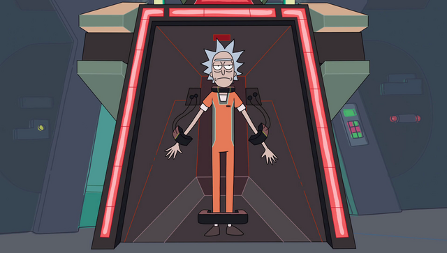 File:S2e10 rick strapped in2.png