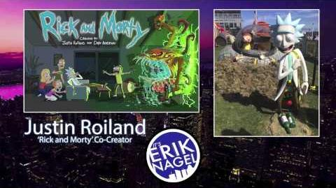 'Rick and Morty' Justin Roiland Interview 08 14 2015