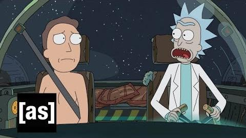 Sneak Peek It's a Rick and Jerry Adventure! Rick and Morty Adult Swim