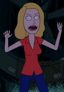 Evil Beth Clone
