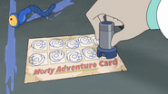 S3e4 morty adventure card