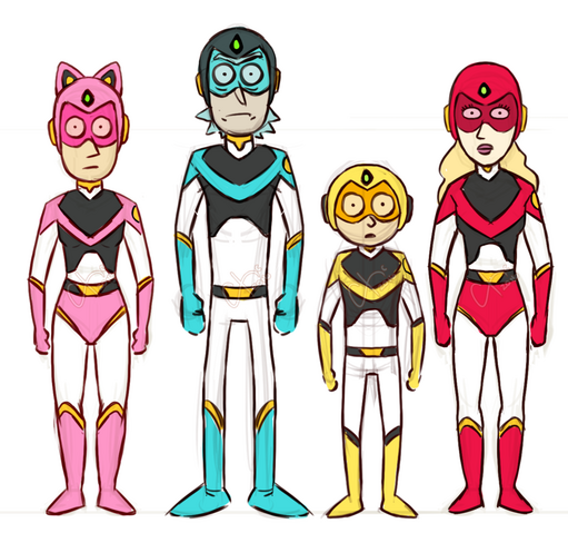 File:Issue 23 CJ Cannon super sentai family.png