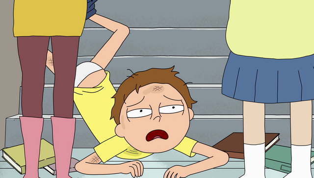 File:S2e4 morty on the ground.png