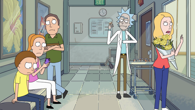 File:S2e4 rick just taking pills.png