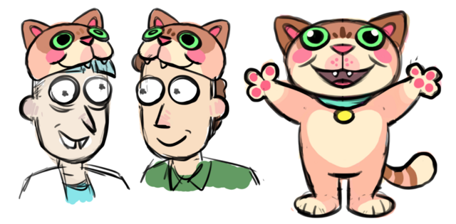 File:Issue 21 CJ Cannon doofus rick and jerry cat hat.png
