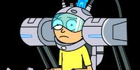 Exoskeleton Morty