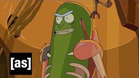 Design Sneak Peek Pickle Rick Rick and Morty Adult Swim