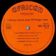 Mpongo Love - L'Afrique Danse avec (African 360102) L2 1000