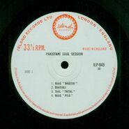 Pakistani Soul Session - label A