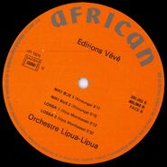 Orchestre Lipua-Lipua - Editions Veve (African 360.061) L B