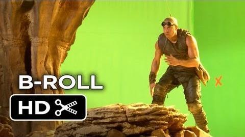Riddick Complete B-Roll (2013) - Vin Diesel, Karl Urban Sci-Fi Movie HD