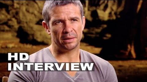 """Riddick Matt Nable """"Boss Johns"""" On Set Interview"""