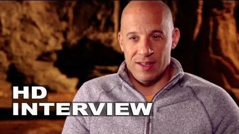 "Riddick Vin Diesel ""Riddick"" On Set Interview"