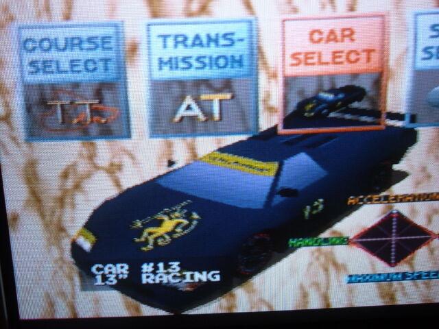 File:Ridge racer black car woohoo!.JPG