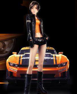 Ridge Racer 3D by Fel1230