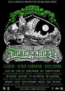 Desertfest Berlin 2014 Poster