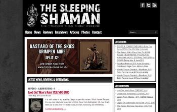 Sleeping Shaman Home Page
