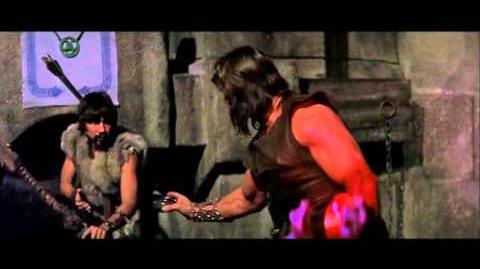 One Man Band OneWallCinema Conan the Barbarian (1982) iRiff Sample 2