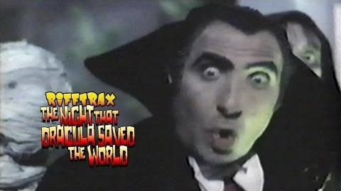 RiffTrax The Night That Dracula Saved The World (Preview Clip)