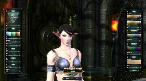 High Elf Female Character Customization - CBT