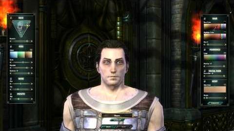 Mathosian Male Character Customization - CBT